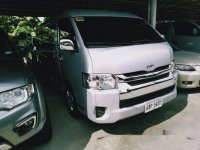 Silver Toyota Hiace 2016 Automatic Diesel for sale