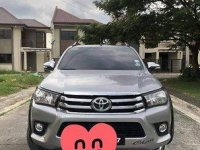 Silver Toyota Hilux 2016 at 53000 km for sale