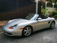 Silver Porsche Boxster 2000 Automatic Gasoline for sale