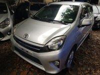 Silver Toyota Wigo 2016 at 9469 km for sale