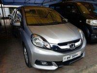 Grey Honda Mobilio 2016 for sale in Marikina