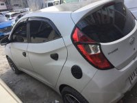 White Hyundai Eon 2014 Manual Gasoline for sale in Manila
