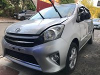 Sell Silver 2016 Toyota Wigo Hatchback in Quezon City