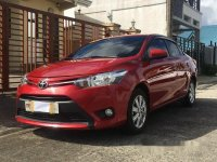 Red Toyota Vios 2016 at 10600 km for sale