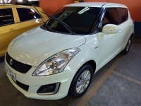Sell White 2016 Suzuki Swift in Quezon City