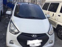 White Hyundai Eon 2014 for sale in Manila
