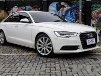 White Audi A6 2012 for sale in Quezon City