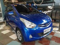 Sell Blue 2014 Hyundai Eon in Antipolo