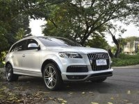 Selling Silver Audi Q7 2010 in Quezon City