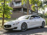 White Maserati Quattroporte 2014 for sale in Quezon City