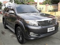 Selling Toyota Fortuner 2016 in Las Pinas