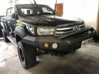 Selling Toyota Hilux 2016 in Quezon City