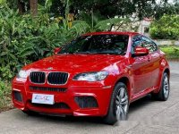 Red Bmw X6 M 2011 for sale in Quezon City