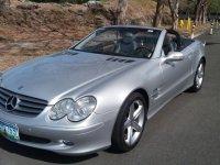 Selling Silver Mercedes-Benz Sl500 2002 in Manila