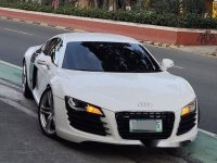 White Audi R8 2012 for sale in Quezon City