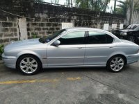 Silver Jaguar X-Type 2003 for sale in Automatic