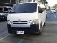 Toyota Hiace 2016 for sale in Quezon City