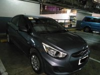 Silver Hyundai Accent 2015 for sale in Mandaluyong