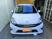 White Toyota Wigo 2014 for sale in San Pablo