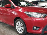 Red Toyota Vios 2016 for sale in Quezon City