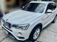 Pearl White Bmw X3 2015 for sale in Makati