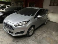 Silver Ford Fiesta 2014 for sale in Quezon City