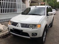 Selling Pearl White Mitsubishi Montero Sport 2013 in Parañaque