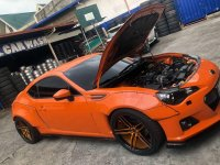 Selling Orange Subaru Brz 2014 in Quezon City