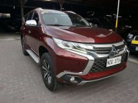 Red Mitsubishi Montero sport 2016 for sale in Pasig