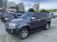 Black Toyota Fortuner 2008 for sale in Automatic