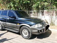 Black Ssangyong Musso 2006 for sale in Cebu City