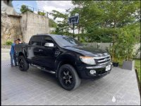 Selling Black Ford Ranger 2014 in Cebu City