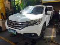Sell White 2012 Honda Cr-V in Quezon City