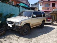Sell Silver 1999 Isuzu Trooper at 76000 km