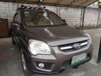 Brown Kia Sportage 2009 for sale in Rizal