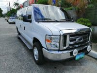 Sell White 2013 Ford E-350 in Pasig