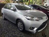Silver Toyota Vios 2018 for sale in Manual