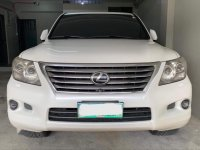 Pearl White Lexus Lx 2009 for sale in Manila