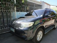 Black Toyota Fortuner 2016 for sale in Automatic