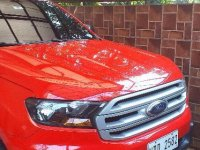 Sell Red 2016 Ford Everest in Antipolo