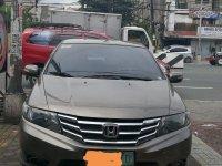 Sell Brown 2010 Honda City in Valenzuela