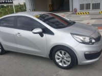 Selling Silver Kia Rio 2015 in Silang