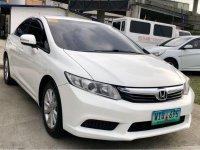 Selling White Honda Civic 2013 in Manila