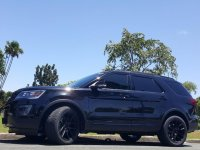 Black Ford Explorer 2016 for sale in Automatic