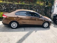 Brown Suzuki Ciaz 2018 for sale in Manila
