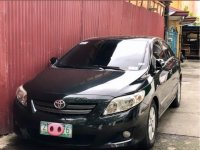 Black Toyota Altis 2008 for sale in Manual
