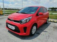 Red Kia Picanto 2018 for sale in Manila