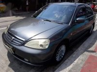 Selling Silver Honda Civic 2002 in Quezon City