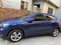 Blue Honda Hr-V 2017 for sale in Automatic