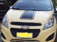 Selling Cream Chevrolet Spark 2014 in Pili
